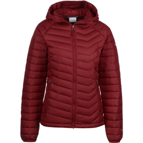 Columbia Powder Lite Hooded Jacket Women beet